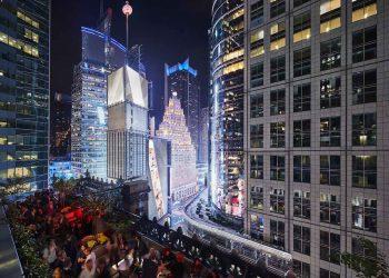 Recibe el nuevo año en la cima del Hotel Knickerbocker con las mejores vistas a Times Square