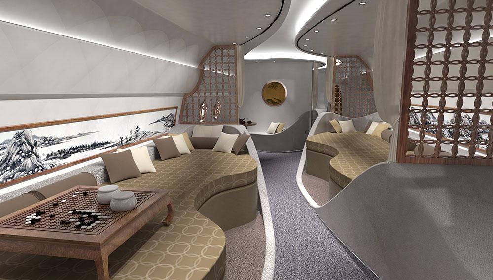 Boeing Xiao Yao: El primer jet privado al estilo Feng Shui