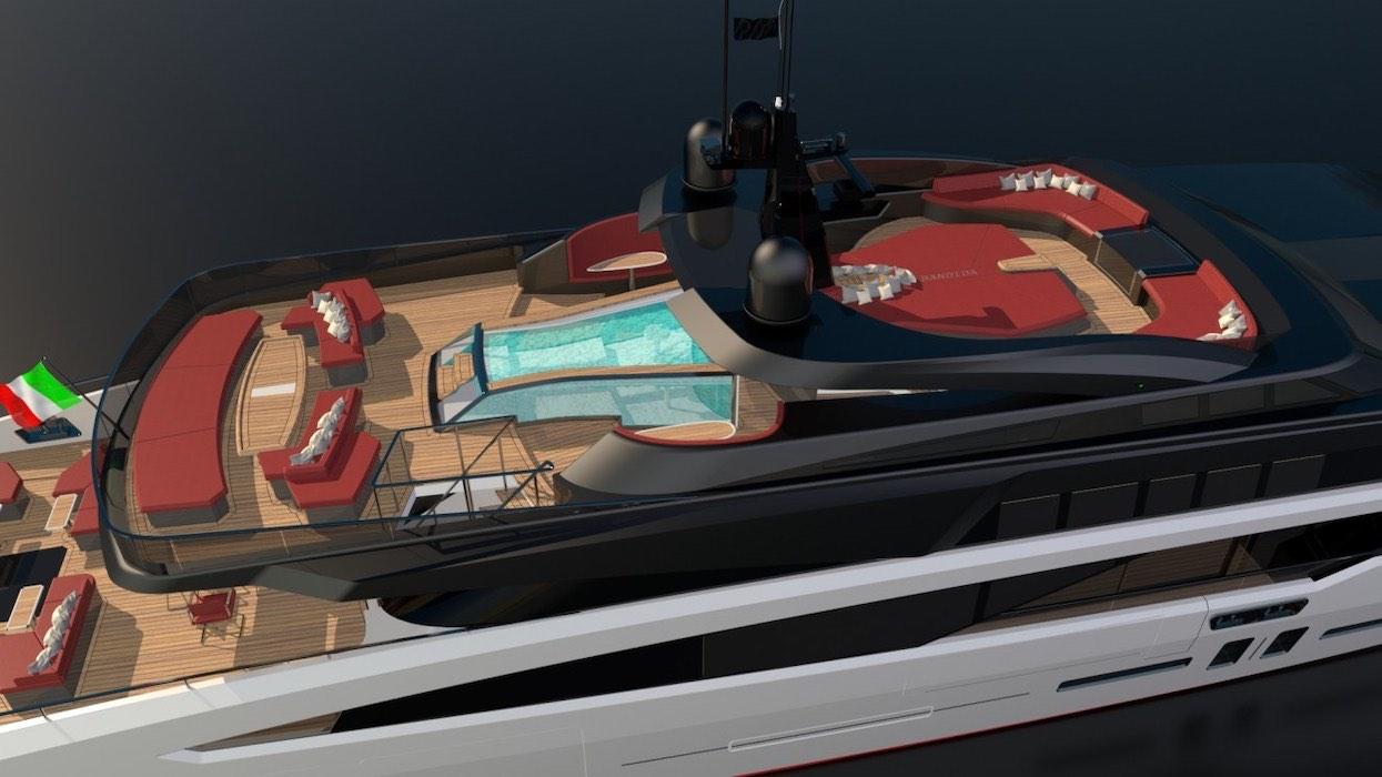 El dúo dinámico en la construcción naval, Franco Gianni y Josh Rodríguez, se unen para crear esta moderna embarcación.