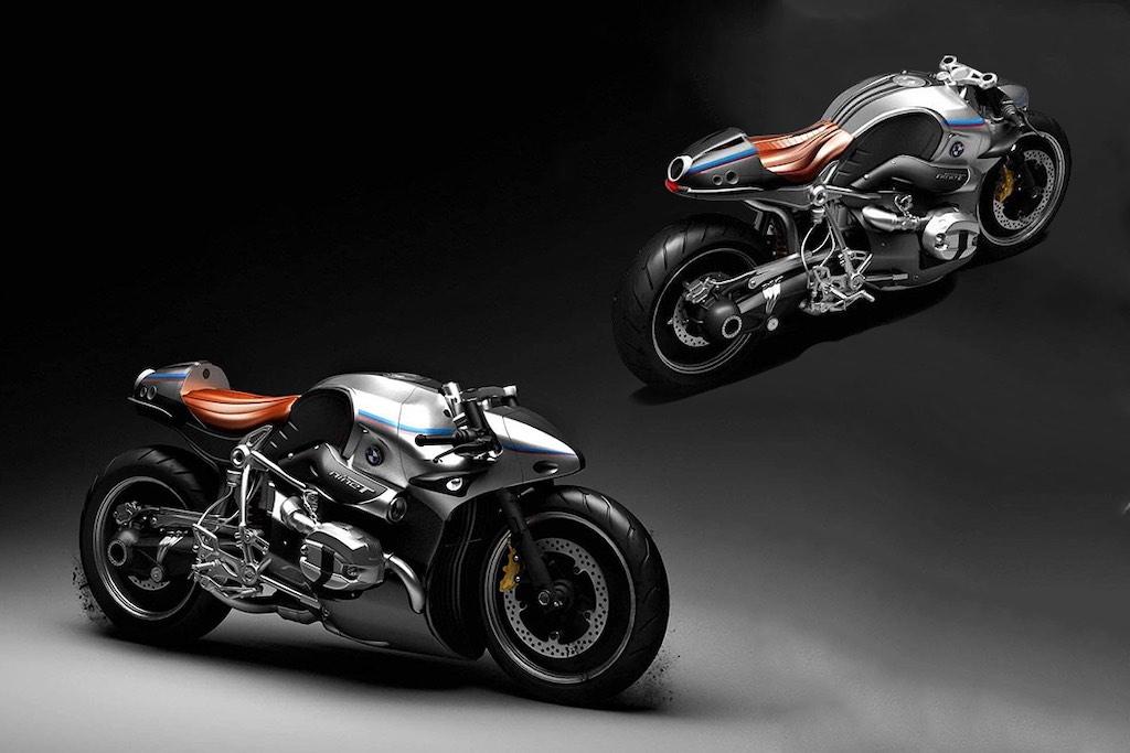 BMW Aurora Concept: Vea esta increíble transfomación de una motocicleta BMW R nineT