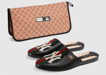 Estas pantuflas Gucci de $1000 serán el regalo perfecto para ese fanático ridículamente rico de los NY Yankees