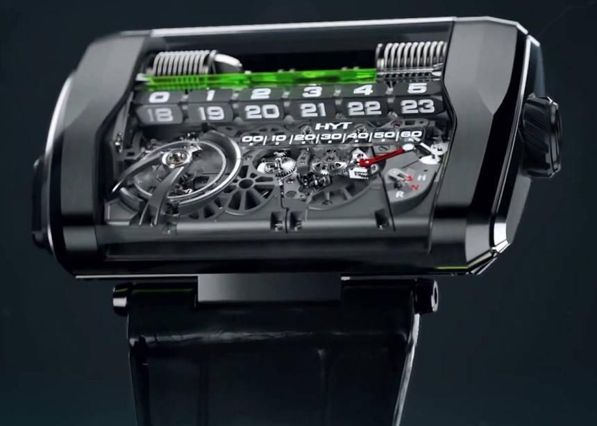 HYT H3, un revolucionario reloj del futuro