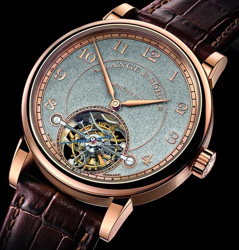 1815 Tourbillon Handwerkskunst:  Te maravillarás con la edición ?súper? limitada de solo 30 unidades de este reloj de A. Lange & Söhne