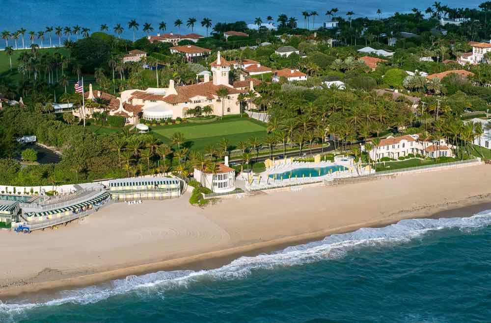 Country Club Mar-a-Lago en Florida, propiedad del presidente Donald Trump.