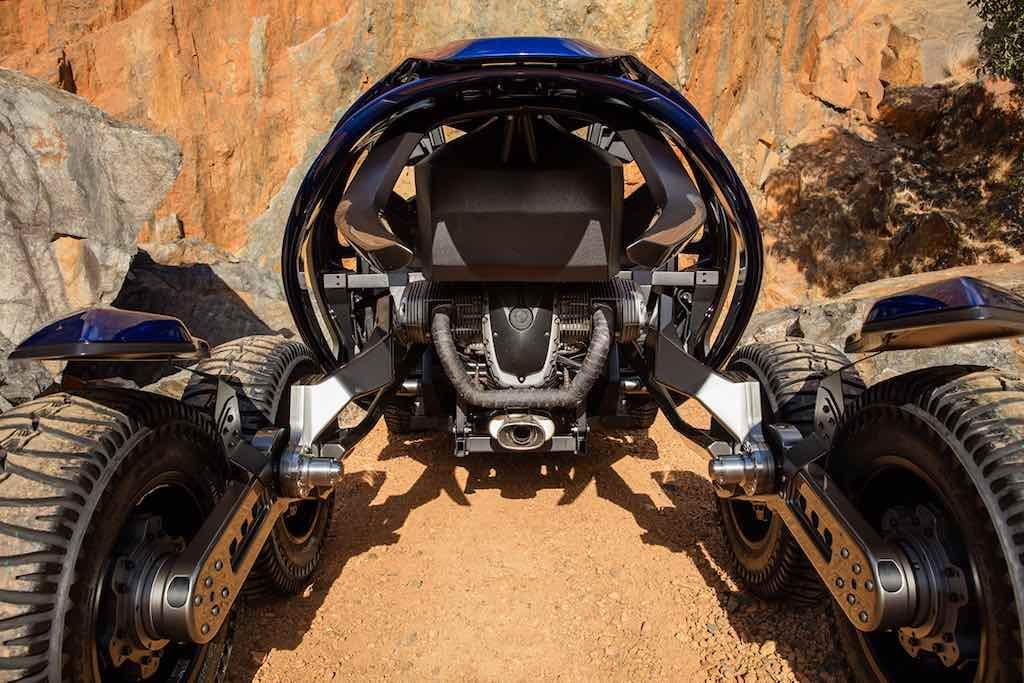 Ferox Azaris: Chequea este bestial Off-Road de 6 ruedas del futuro
