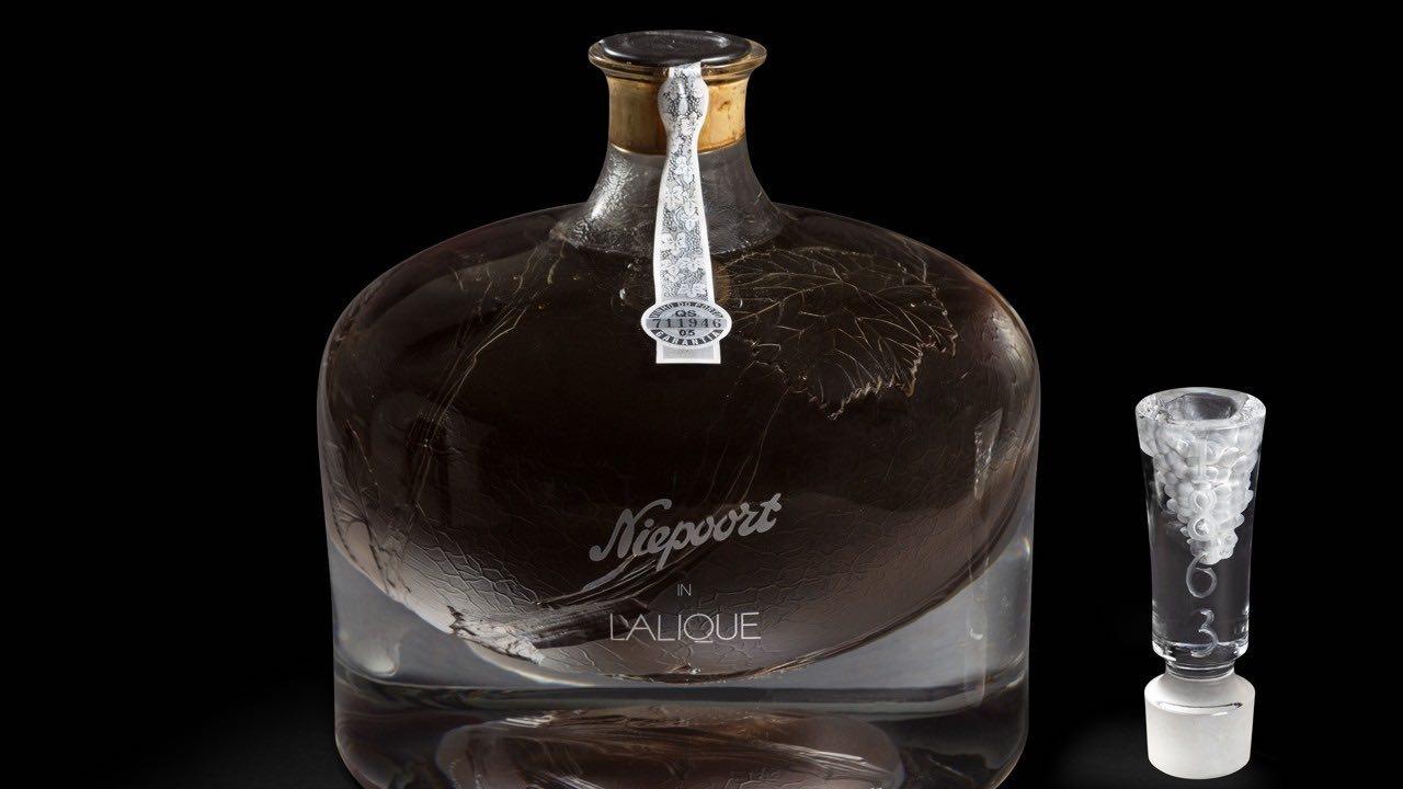 Niepoort en el decantador Lalique 1863: El vino Oporto más caro del mundo