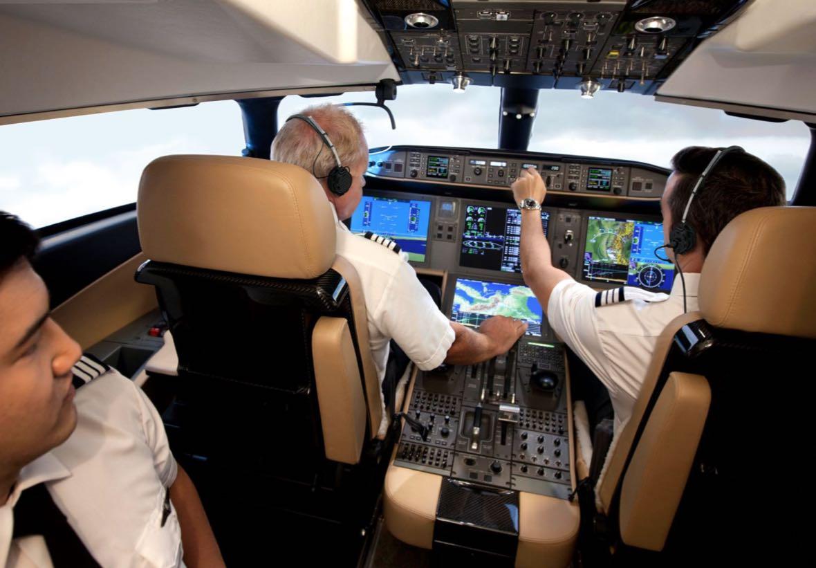 Bombardier Global 7500 (interior)