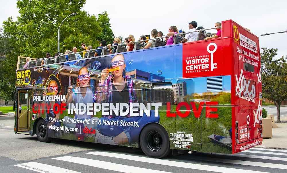 Bus en Filadelfia