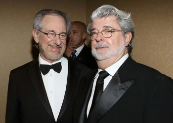 George Lucas y Steven Speilberg