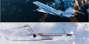 Bombardier Global 7500 vs Gulfstream G650: Batalla entre los mejores jet privados para conquistar los cielos