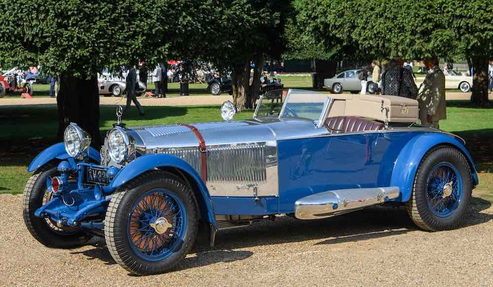 Mercedes-Benz 680 S 'Boat Tail' Roadster 1928 de Barker: Concours of Elegance Hampton Court Palace