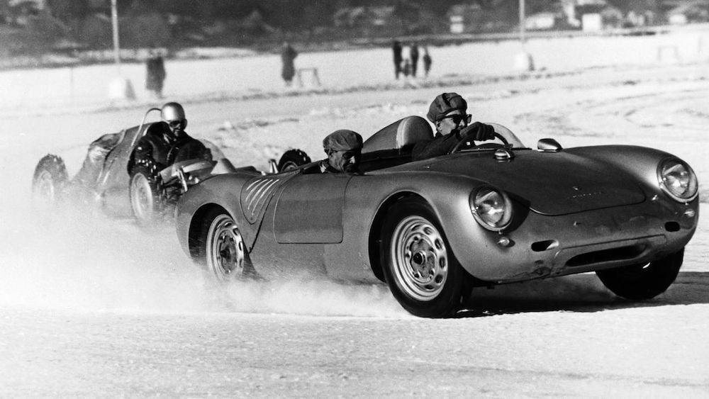 Porsche revive la legendaria 'Carrera del Hielo' en Austria