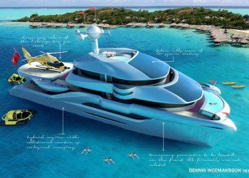 Conozca el más nuevo y lujoso catamarán del mundo, imaginado por Dennis Ingemansson, que funciona completamente con energía solar