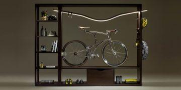 DOMUS: Vadolibero construye el estante de bicicleta perfecto para el hogar