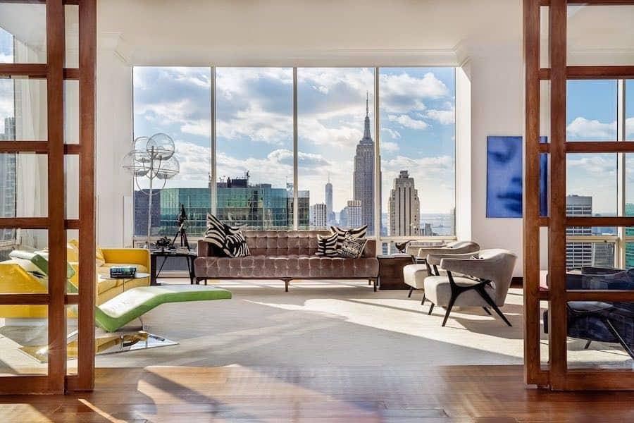 Haga un tour por el interior del exclusivo penthouse Gucci en Manhattan a la venta por $38 millones