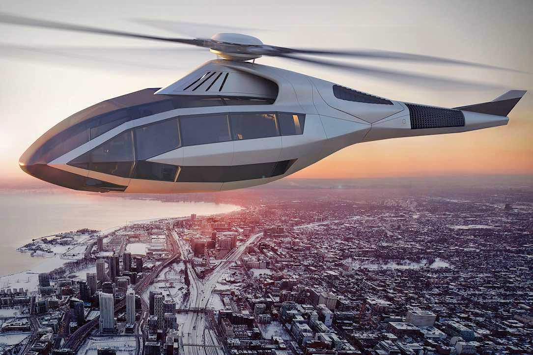 Bell FCX-001: Un concepto futurista que cambiará para siempre la manera de volar en helicóptero