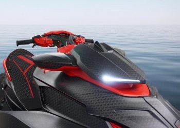 BLACK MARLIN: Un lujoso Jet Ski hecho de fibra de carbono por Mansory