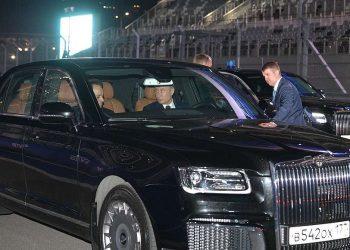 Aurus Senat: La nueva limusina blindada de Vladimir Putin