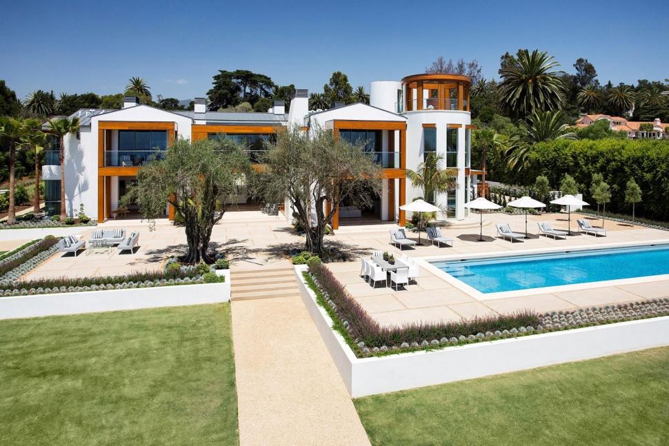 Michael Barnick, ex-ejecutivo de Apple está vendiendo su mansión con la más alta tecnología en Hope Ranch, California por $35 millones