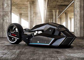 BMW Titan: Un revolucionario concepto de motocicleta apto para Batman
