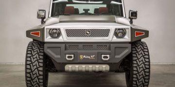 RHINO XT de US Specialty Vehicles, el reinventado todoterreno 4x4 de $157.000