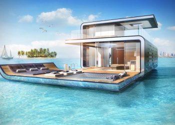 """Floating Seahorse """"Signature Edition"""": Fotos de la villa flotantes más lujosa en el archipiélago artificial 'The World' en Dubái"""
