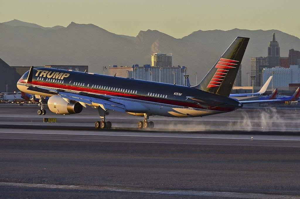 Boeing 757, avión privado de Donald Trump
