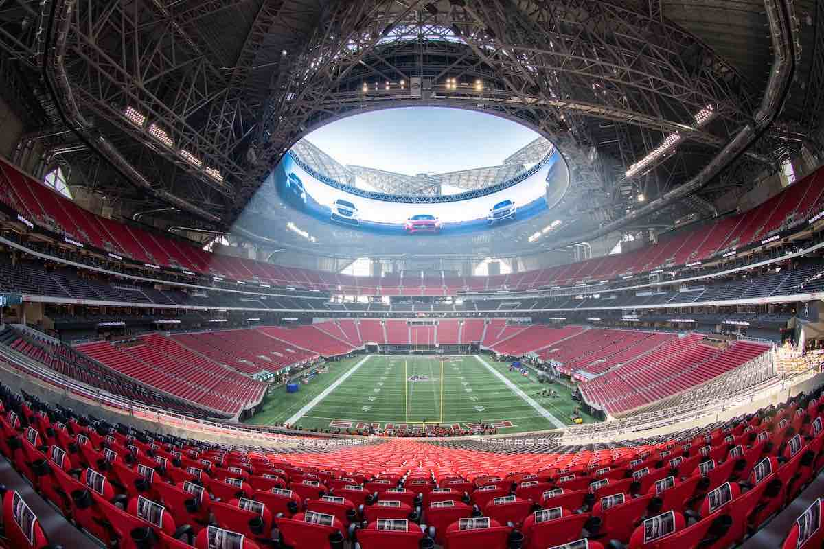 Mercedes-Benz Stadium de Atlanta