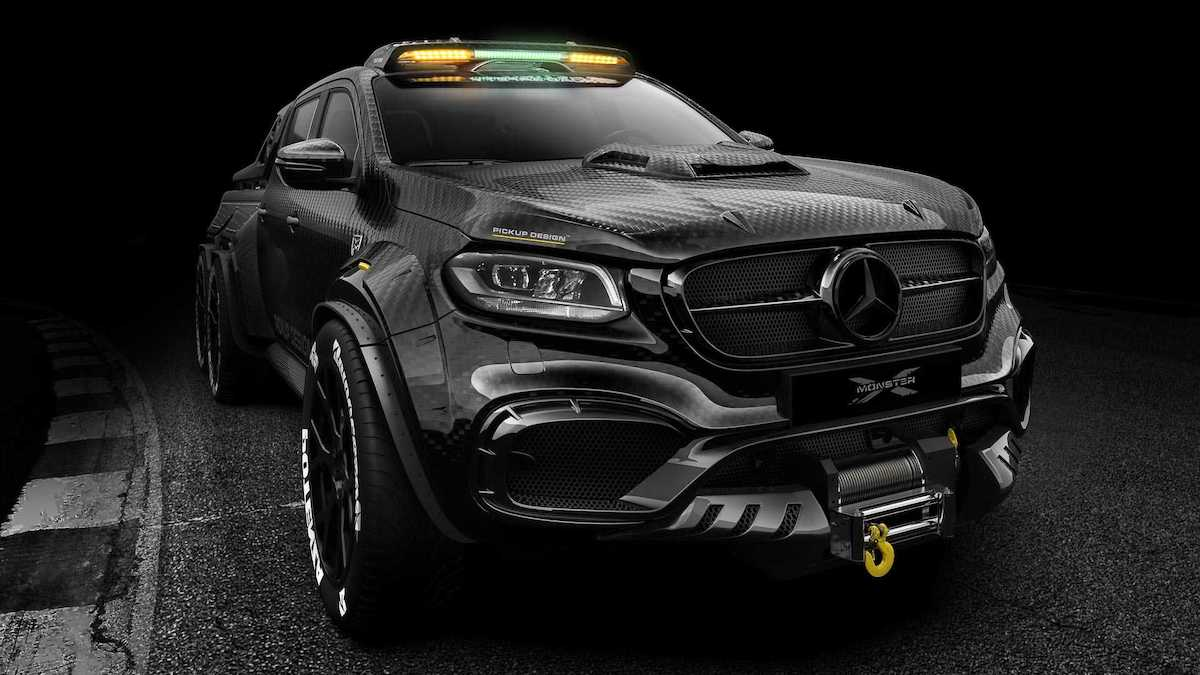 Bestial Mercedes Benz X Class Exy Monster X 6x6 Por Carlex Design