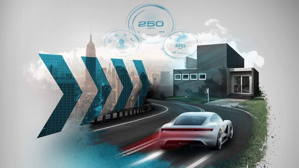 Porsche de una mirada a blockchain: la tecnología clave del mañana