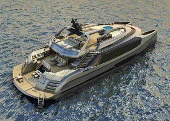 Mauro Giamboi presenta el espectacular concepto de super yate catamarán EGO