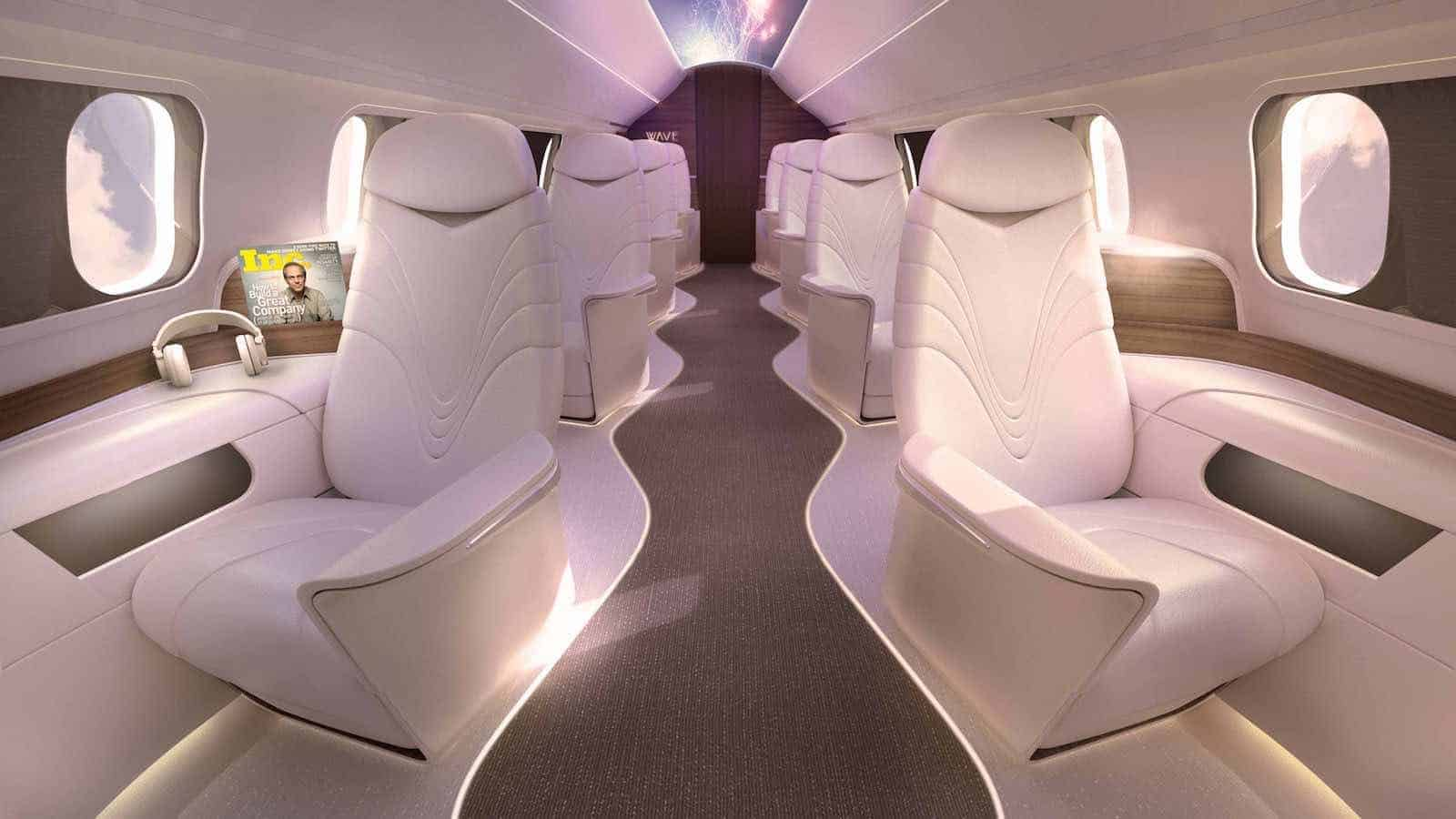 AURA, esta compañía de jet privados te llevará de la ciudad de Nueva York a Los Ángeles en máximo lujo a un precio razonable