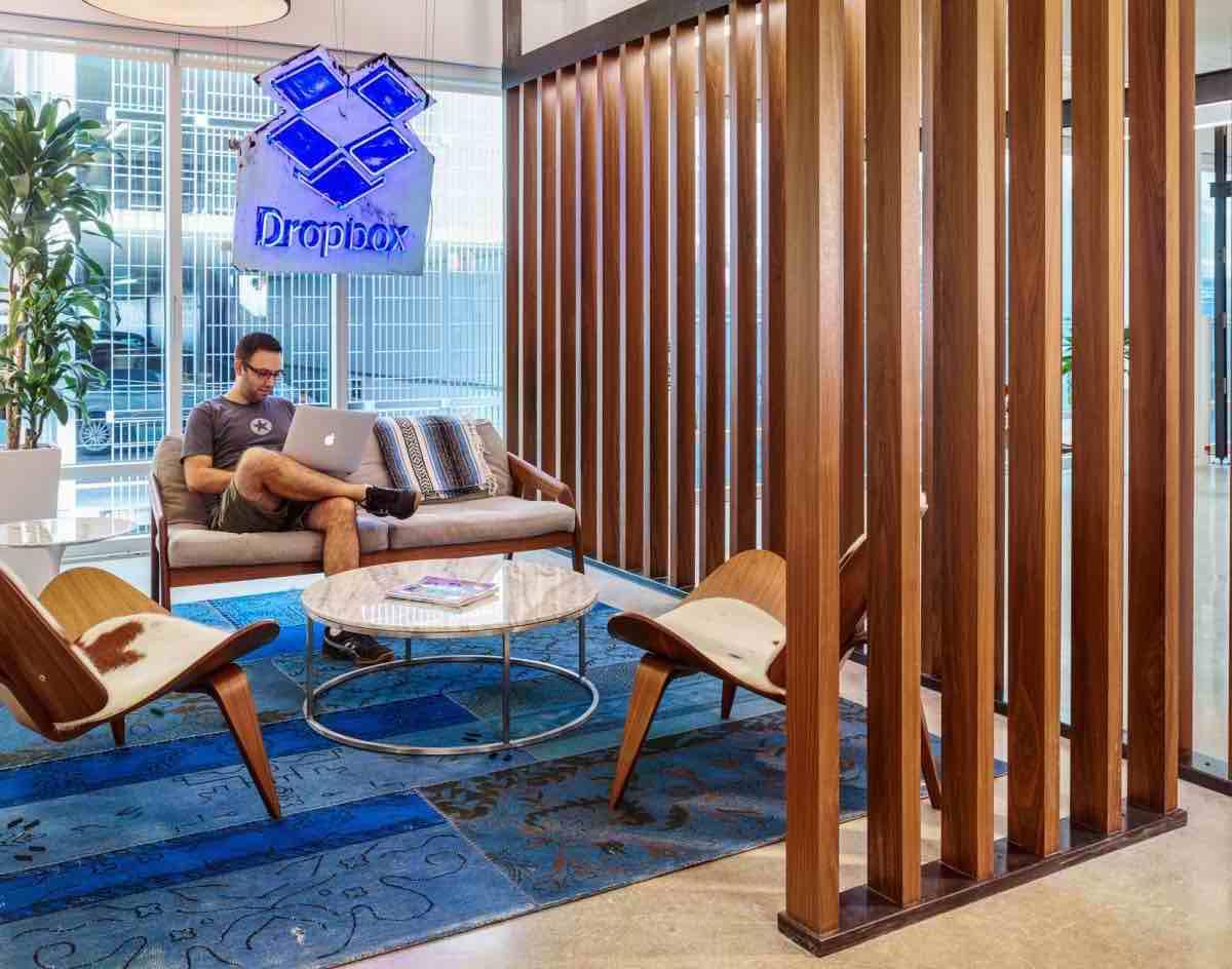 Así son las oficinas de la compañía Dropbox en Austin: ¡Incluyen gimnasio, restaurante y sala de música!