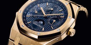 """4b5bc316d156 Exclusivo Audemars Piguet """"Royal Oak Perpetual Calendar"""" en oro macizo de  18 quilates"""