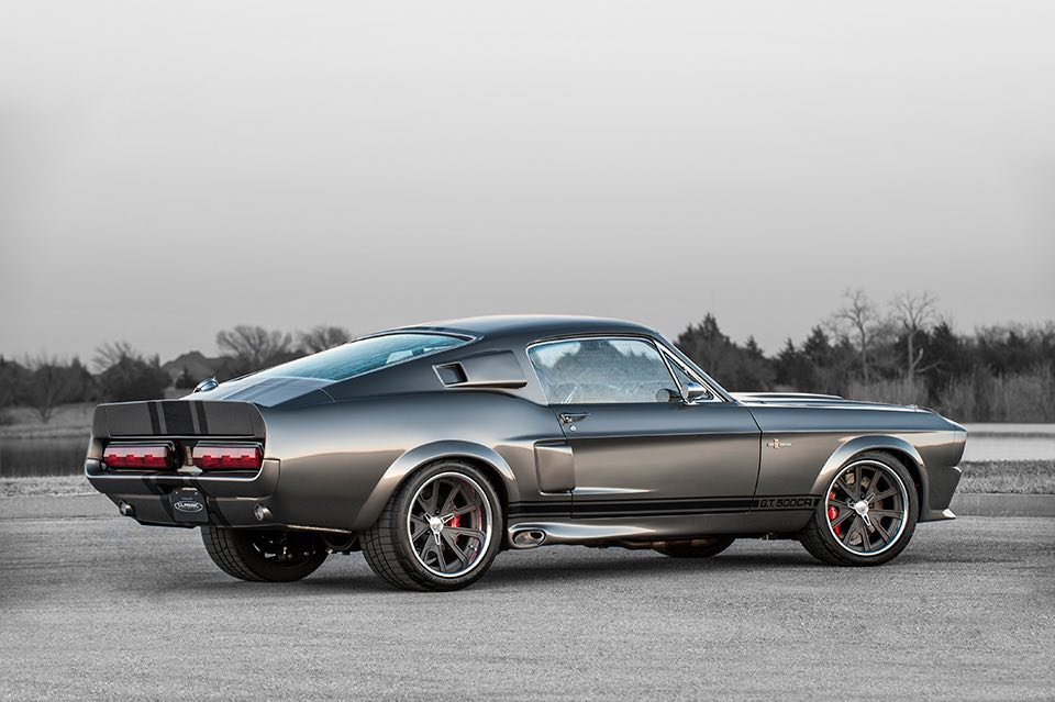 Este bestial Shelby Mustang G.T.500 CR recibe un toque de potencia por Classic Recreations