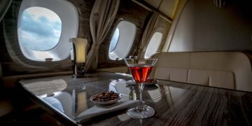 Jet privado - interior