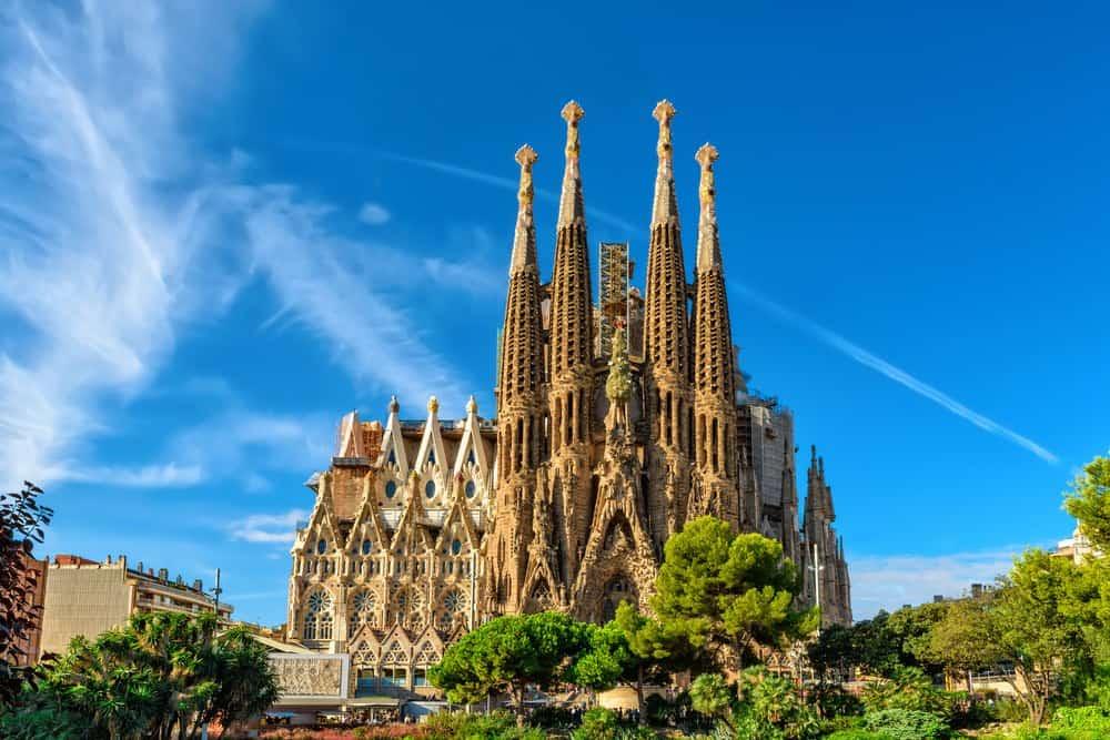 Las principales atracciones turísticas para visitar en España: Sagrada Familia