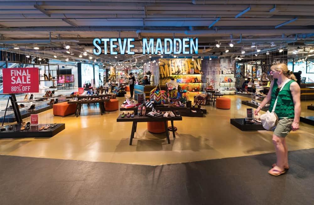 """Tienda """"Steve Madden"""" en Siam Center, Bangkok"""