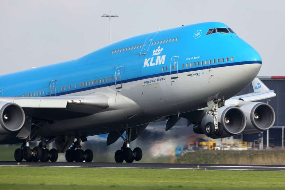 KLM Royal Dutch Airlines: Boeing 747-406
