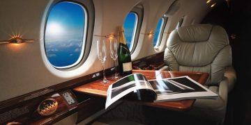 Cabina de lujo, Jet de negocios