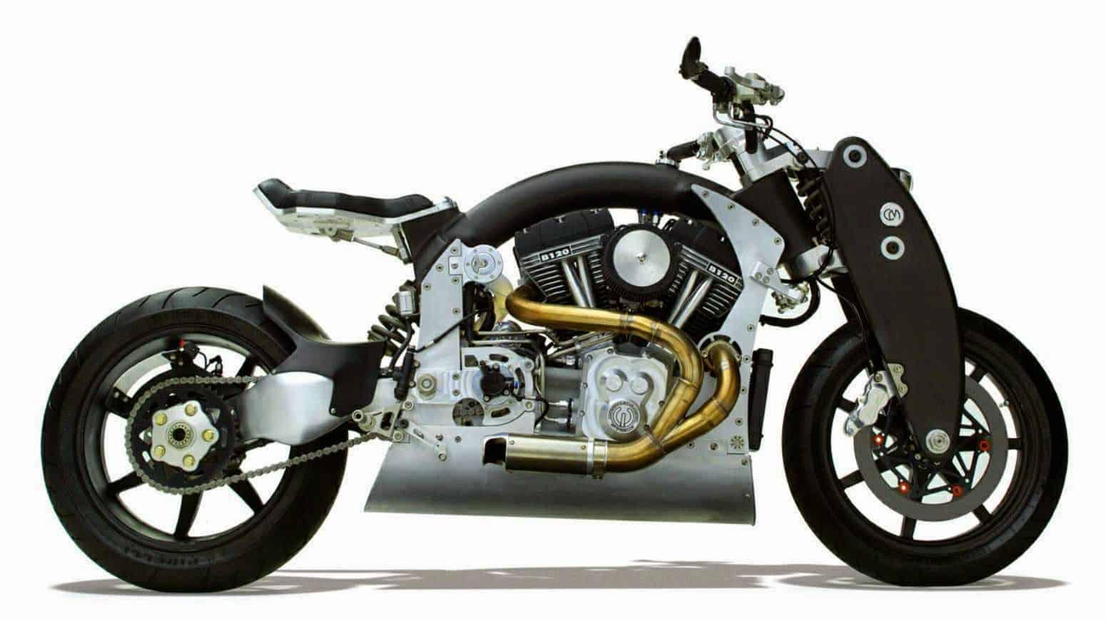 CONFEDERATE B120 WRAITH: Las motocicletas más caras del mundo