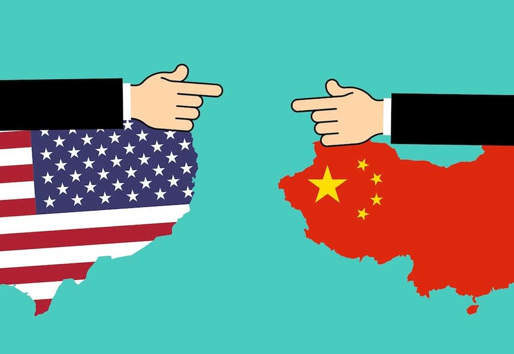 China vs Estados Unidos