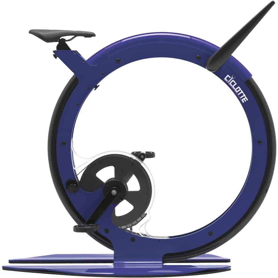 Ciclotte: Ultra moderna monocicleta de spinning que te permite entrenar con estilo y lujo