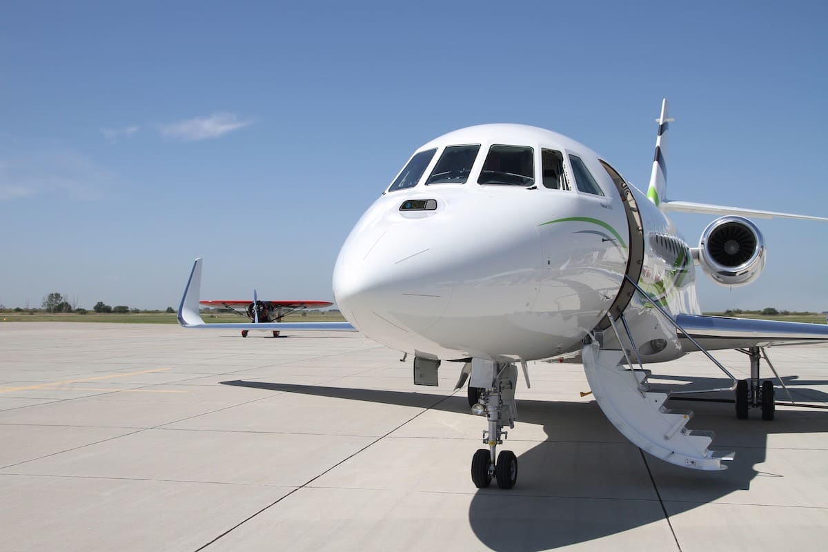 Dassault Falcon 2000S: La cabina de lujo más grande en su clase