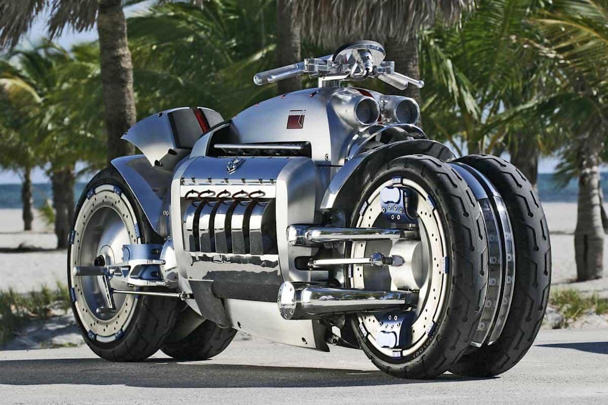 DODGE TOMAHAWK V10: Las motocicletas más caras del mundo