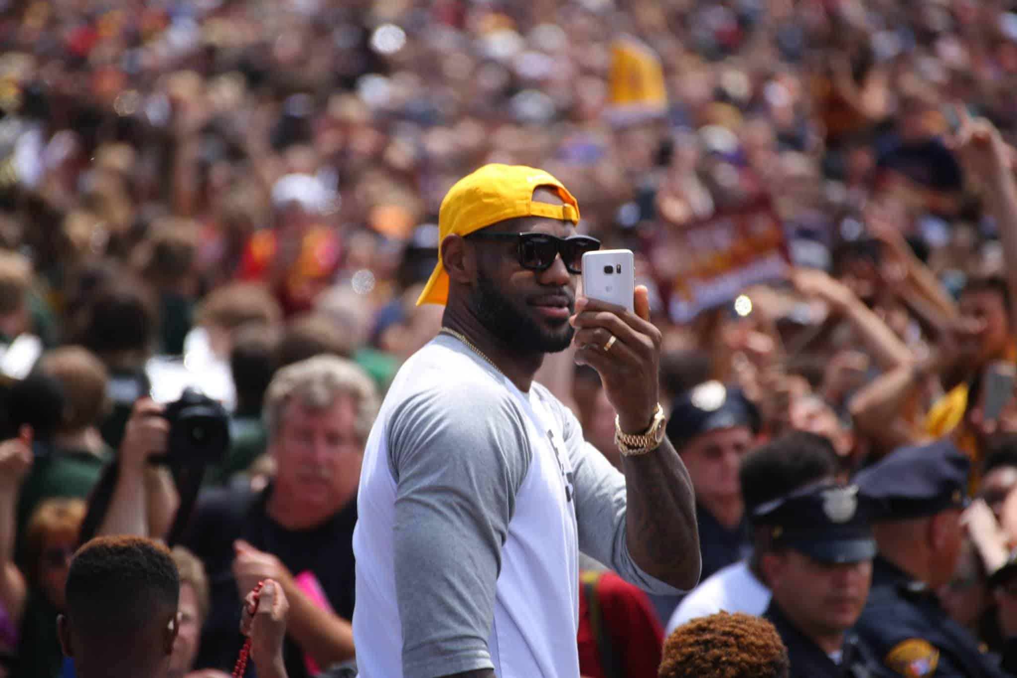 LeBron James: Uno de los atletas más ricos del mundo en Instagram