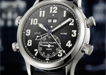 """Patek Philippe """"Alarm Travel Time"""", un reloj inspirado en la aviación"""