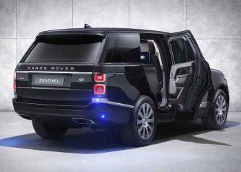 Esta Range Rover Sentinel blindada es como una fortaleza reforzada para las carretera