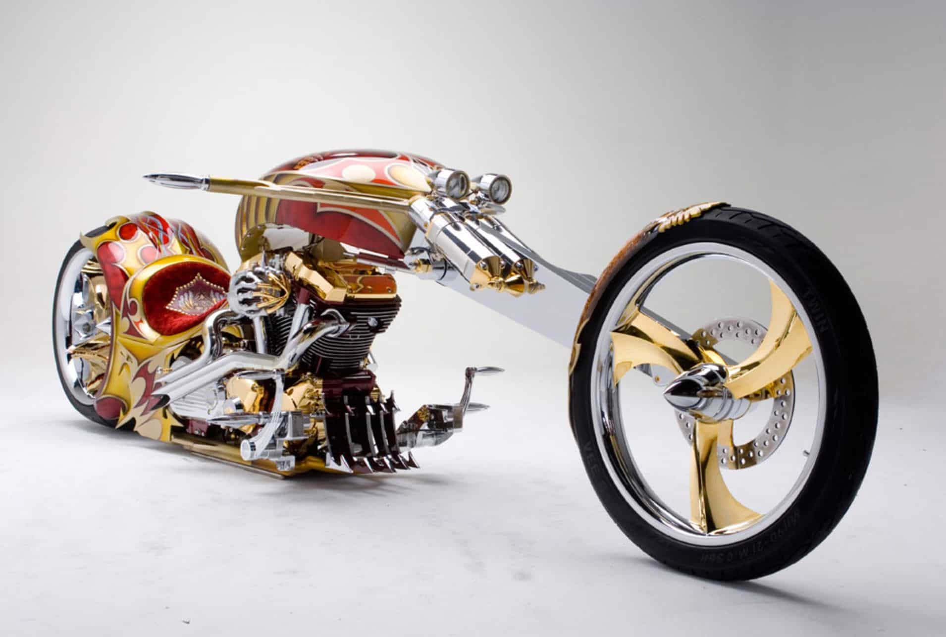 YAMAHA ROADSTAR BMS CHOPER: Las motocicletas más caras del mundo
