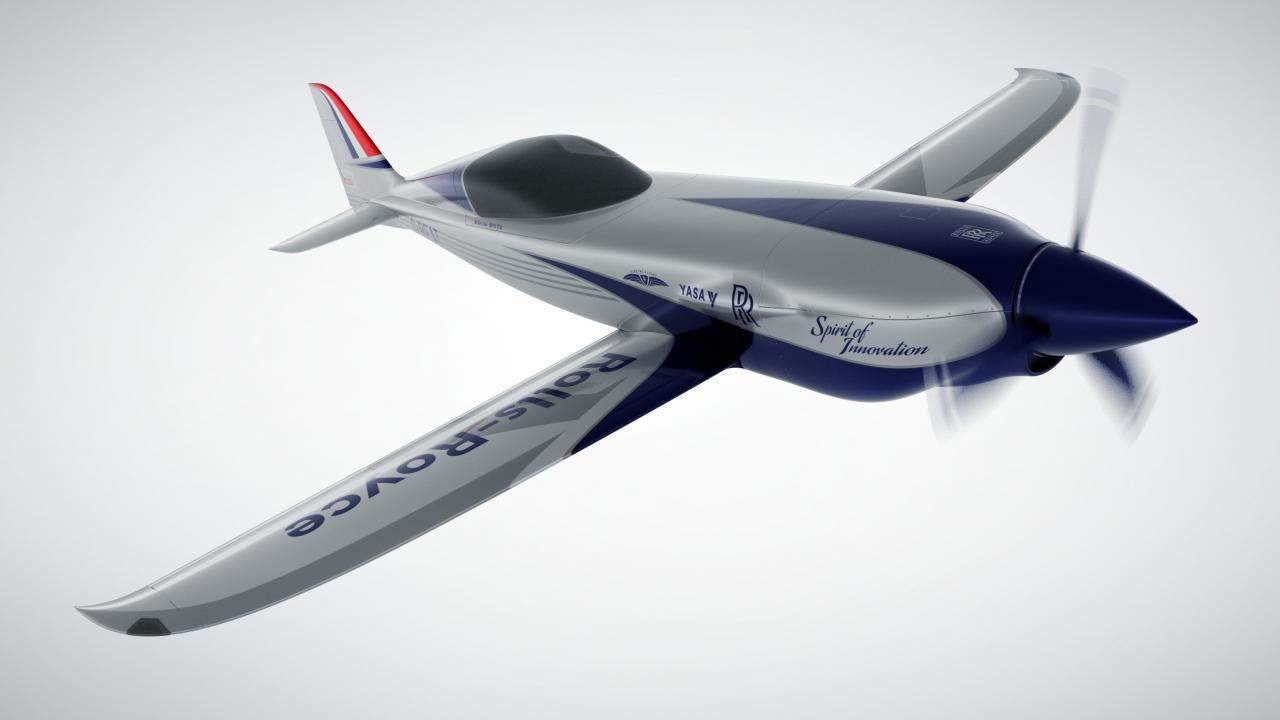 Rolls-Royce está construyendo el avión eléctrico más rápido del mundo en 2020
